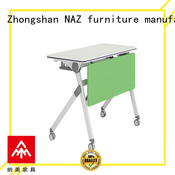 NAZ furniture mobile boardroom training table for conference for training room