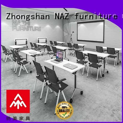 NAZ furniture ft012c foldable office furniture manufacturer for school