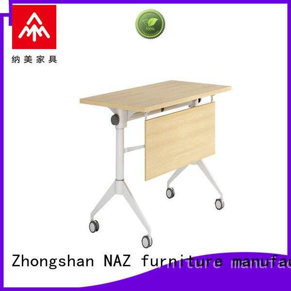 NAZ furniture writing computer training tables furniture wheels for office