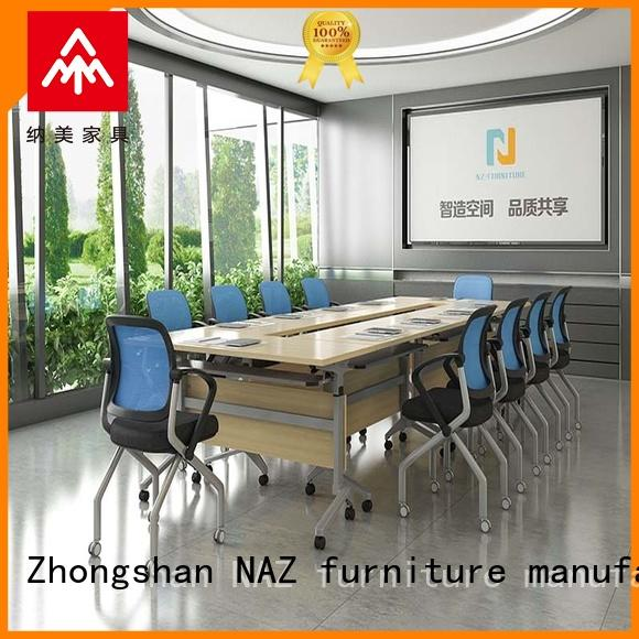 movable small conference table conference on wheels for training room