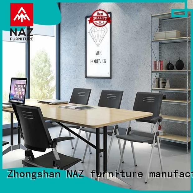 NAZ furniture aluminum 10 conference table for conference for school