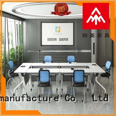 NAZ furniture comfortable modern conference table design on wheels training room