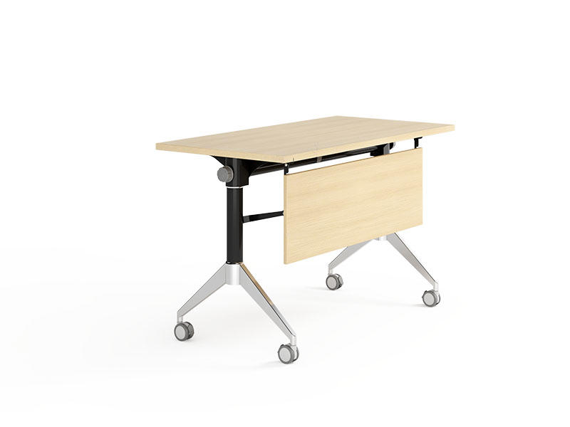 NAZ furniture wheels training table with wheels for school-2