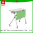 trapezoid training table design metal multi purpose for school