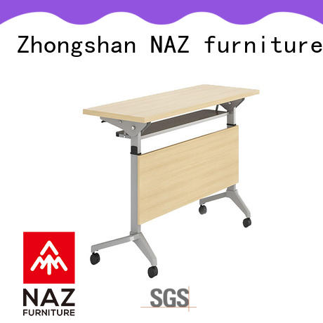 NAZ furniture professional foldable training table multi purpose for school