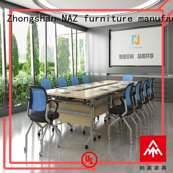 NAZ furniture persons conference room tables folding on wheels