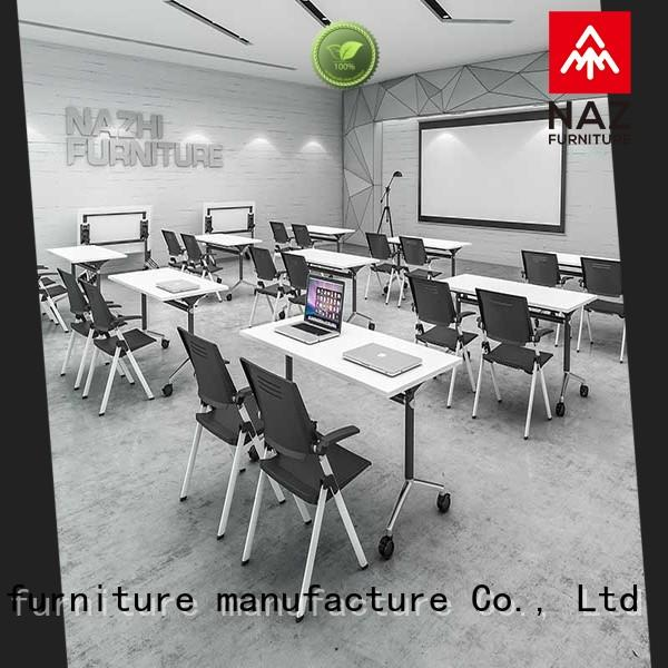 NAZ furniture elegant mobile conference table for conference for training room