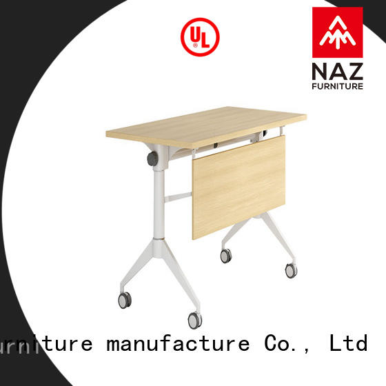 NAZ furniture wheels training table with wheels for school