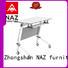 NAZ furniture writing foldable training table multi purpose for training room