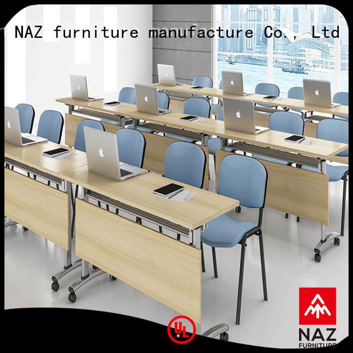 NAZ furniture table modular conference table design manufacturer for school