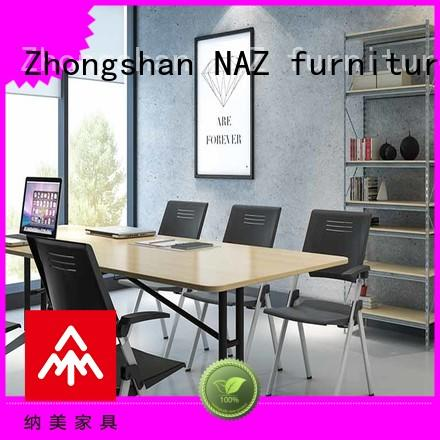 NAZ furniture comfortable conference tables on wheels for school