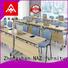 NAZ furniture frame modular conference table design on wheels for school