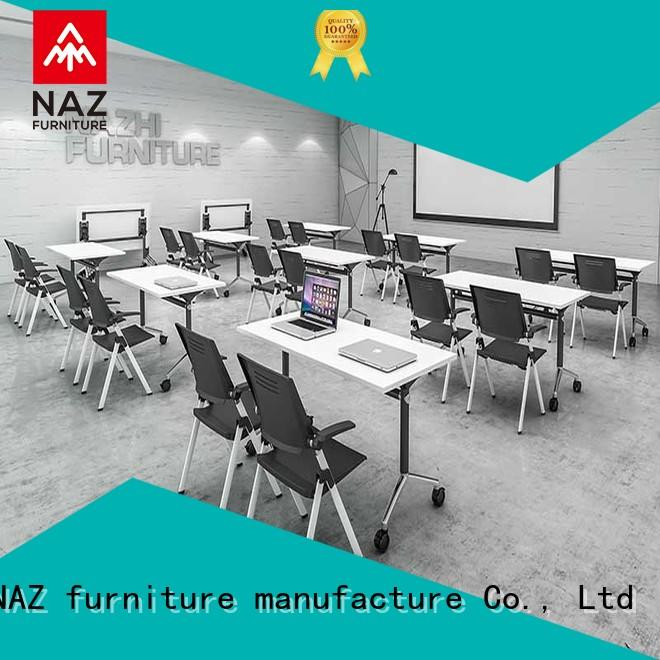 NAZ furniture comfortable conference table and chairs for conference for school