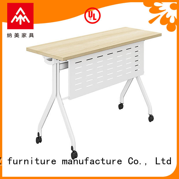 NAZ furniture aluminum training table supply for meeting room