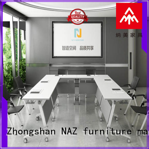NAZ furniture professional modular conference table design manufacturer for meeting room