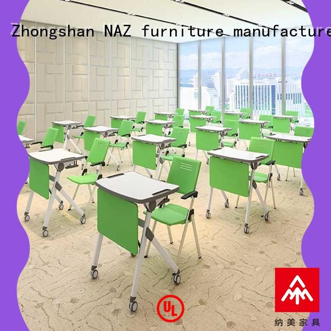 NAZ furniture movable training table frame movable for school