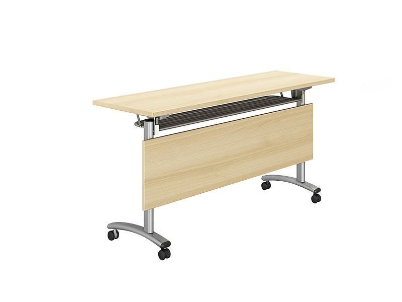 professional mobile conference table on wheels for school-2