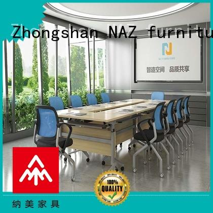 NAZ furniture durable modular conference table design for conference for training room
