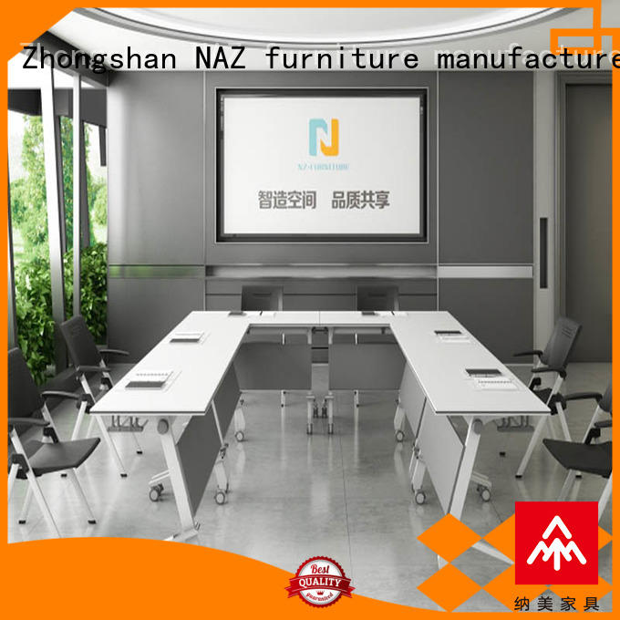 NAZ furniture ft005c modular conference room tables on wheels for meeting room