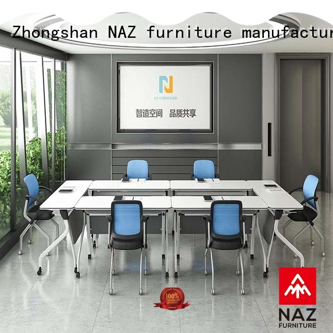 durable 12 person conference table ft001c on wheels for training room