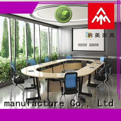 comfortable conference room tables folding frame on wheels for office