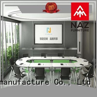 NAZ furniture ft031c conference room tables folding on wheels
