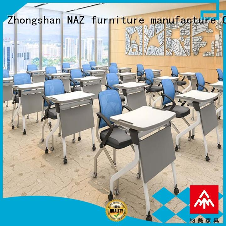 NAZ furniture folding folding student desk wholesale for office