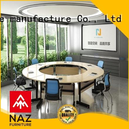 movable modular conference table aluminum manufacturer for meeting room