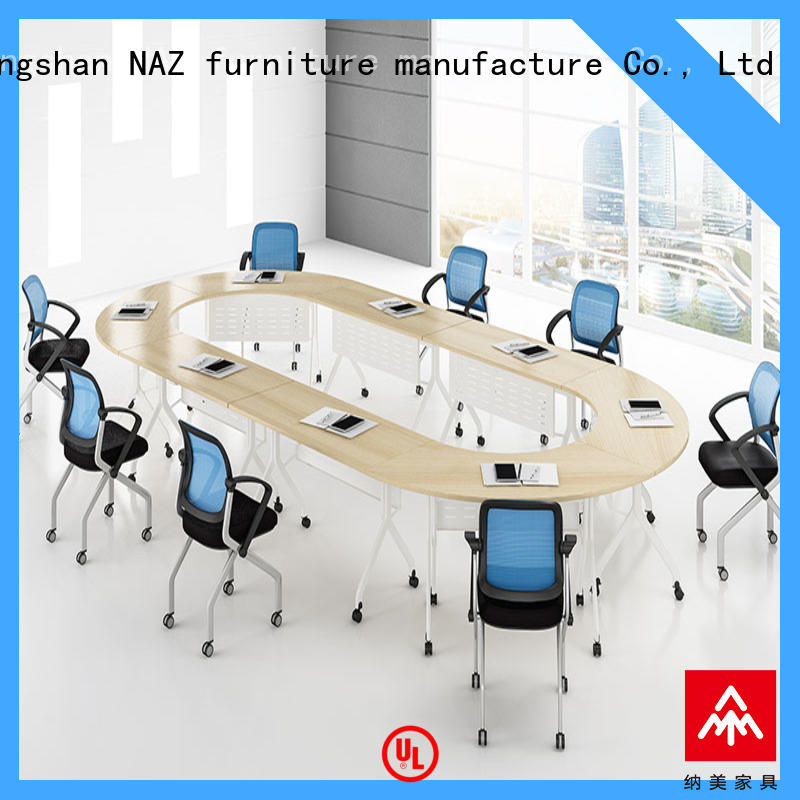 movable square conference table on wheels