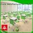 NAZ furniture school folding school desk on wheels for meeting rooms