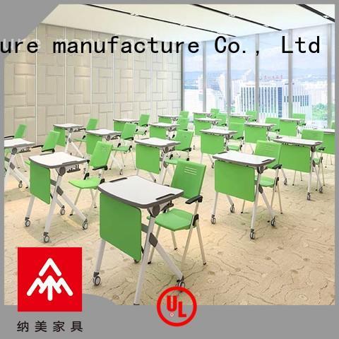 NAZ furniture furniture folding study desk wholesale for training rooms