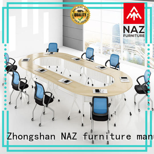 NAZ furniture ft006c 10 conference table on wheels for school