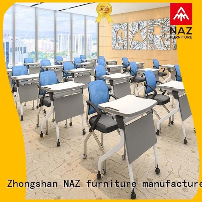 classroom foldable table with wheels modern factory for meeting rooms