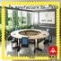 NAZ furniture movable u shaped conference table on wheels for training room