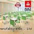 NAZ furniture desk foldable table with wheels on wheels for school