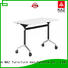 NAZ furniture trapezoid flip top training tables supply for training room