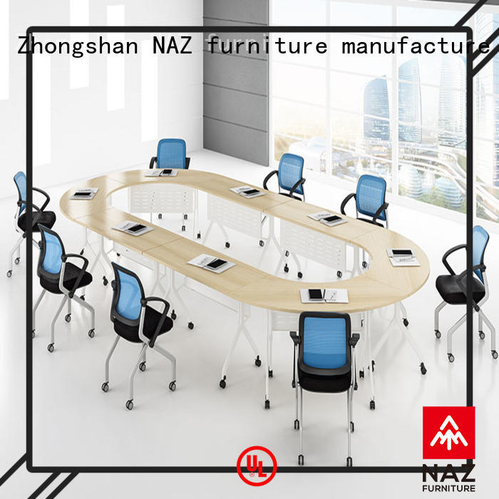 NAZ furniture wheels flip top conference tables for sale for meeting room