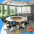 NAZ furniture ft006c modular conference room tables on wheels for meeting room