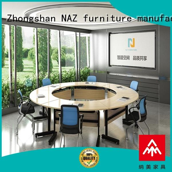 NAZ furniture movable moveable conference table midtohigh for training room