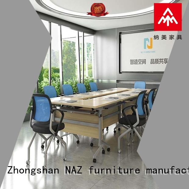 comfortable modular conference room tables ft002c on wheels
