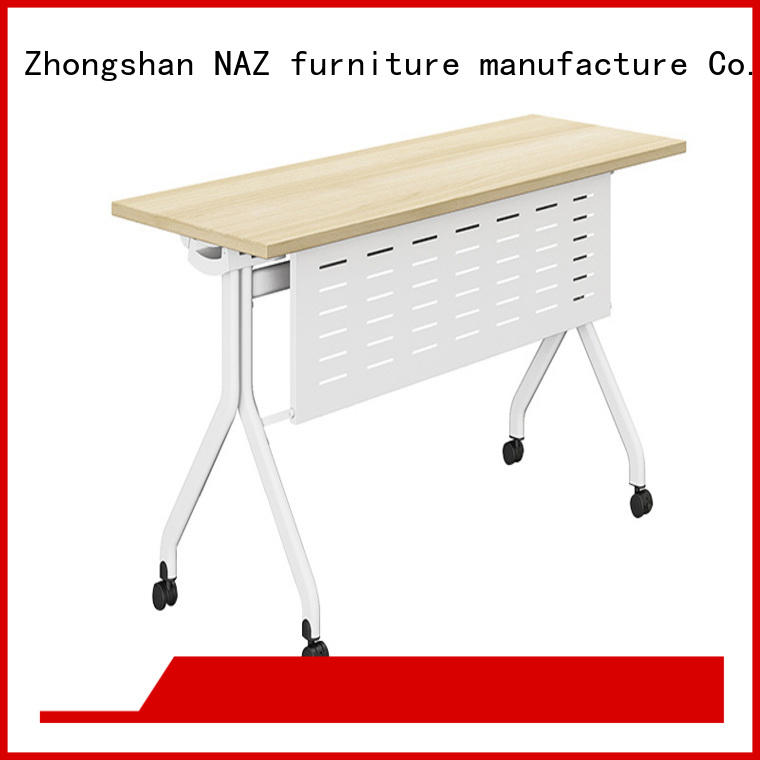 professional flip top training tables trapezoid supply