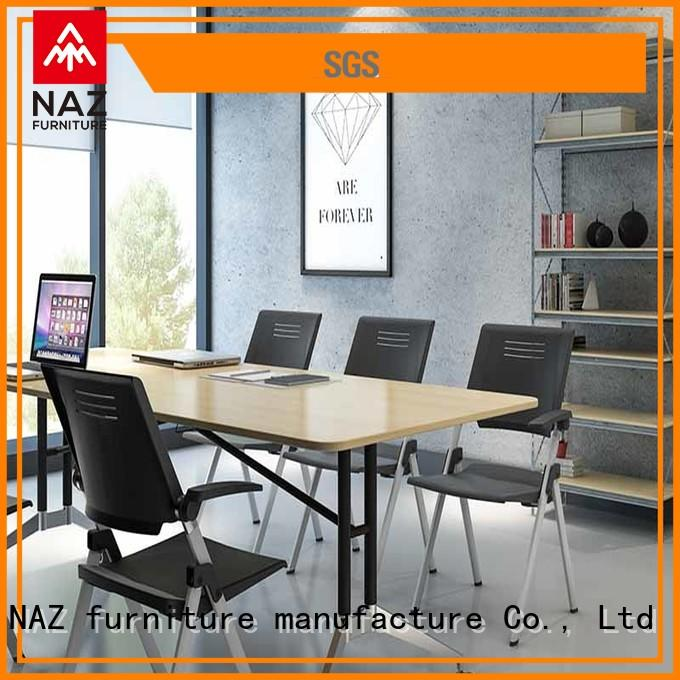 NAZ furniture oneclick conference table and chairs on wheels for meeting room