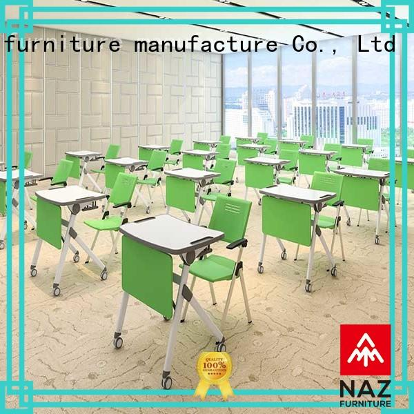 NAZ furniture classroom training table frame factory for meeting rooms