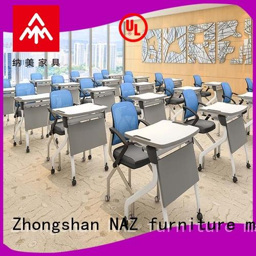 800/1200MM Folding and movable school desk FT-011S