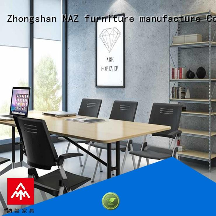 NAZ furniture comfortable square conference table manufacturer for training room