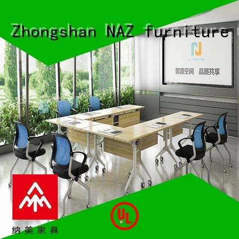 folding conference tables shape for training room NAZ furniture