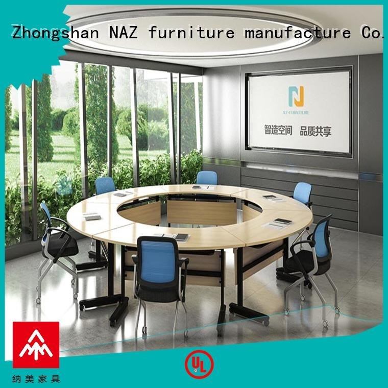 NAZ furniture durable foldable office furniture manufacturer for meeting room