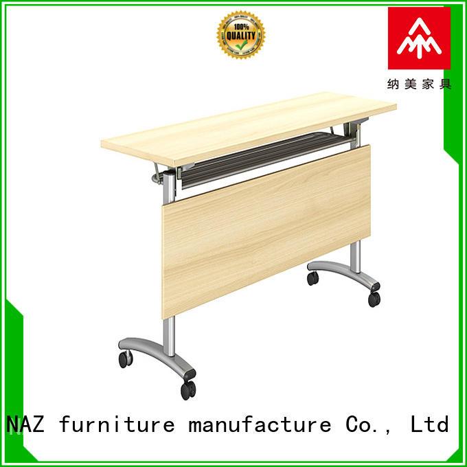 NAZ furniture modular training room furniture with wheels