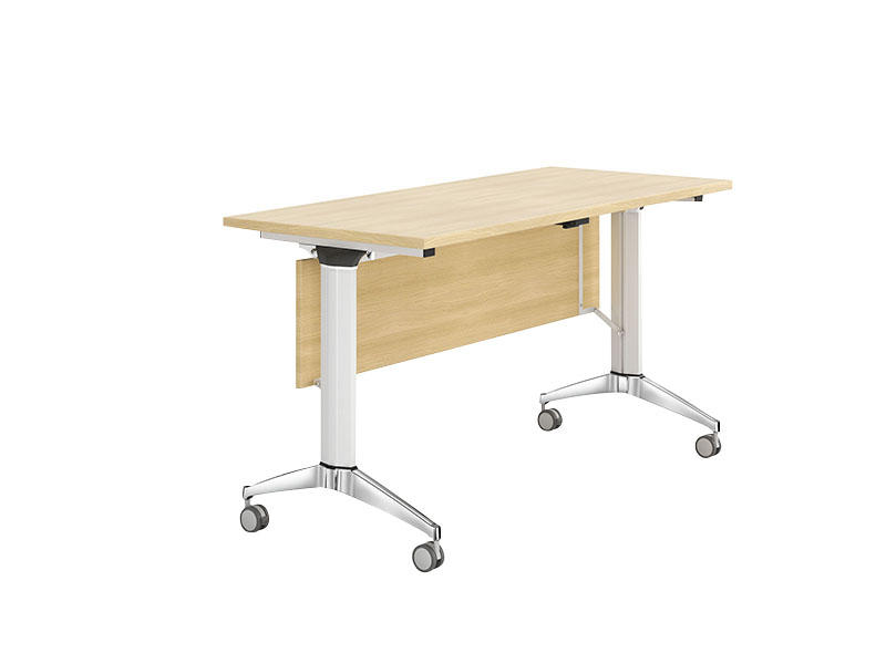 professional 12 person conference table ft020c on wheels for school-1