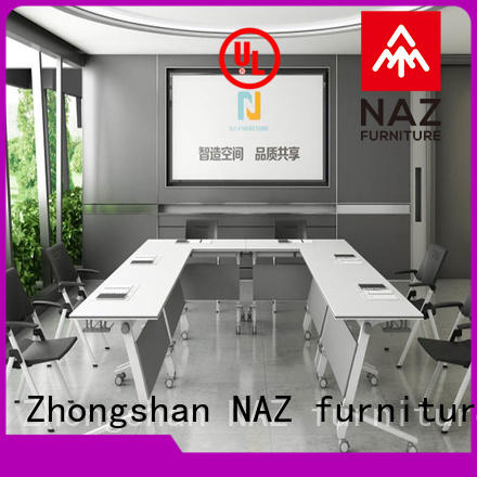 NAZ furniture movable conference room tables folding for conference for school